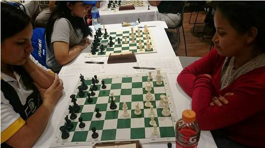 Momento decisivo: Leticia Gamboa vrs María Granados