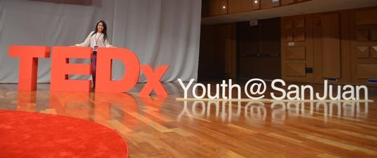 En la conferencia Tedx Youth