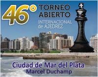 """46to. Torneo Internacional de Ajedrez """"Ciudad de Mar del Plata"""" 2015"""
