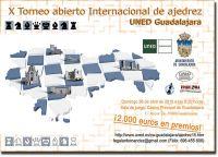 X Torneo de Ajedrez UNED Guadalajara 2015