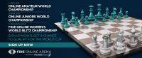 Torneos oficiales FIDE en FIDE Online Arena